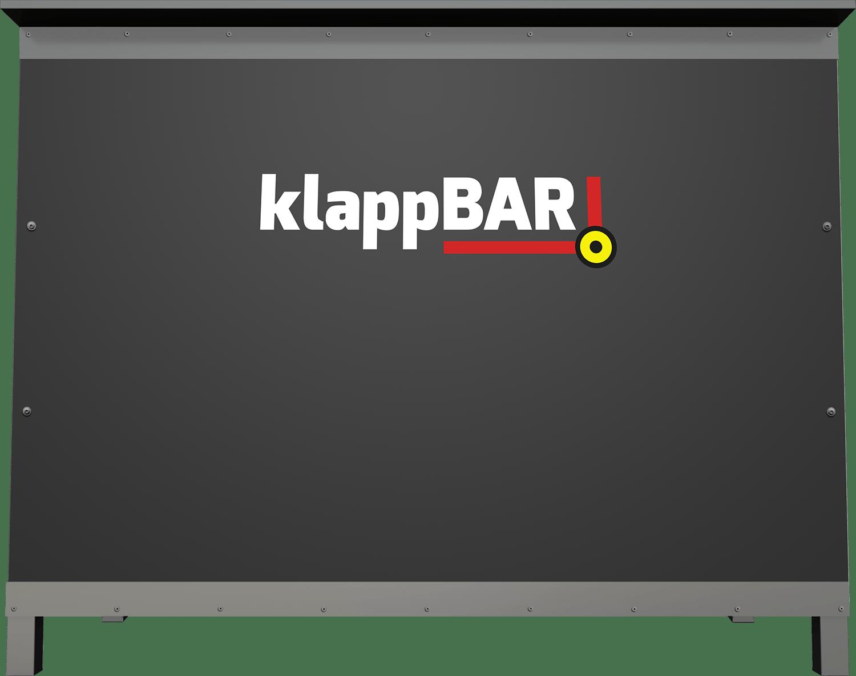 klappBAR | Die mobile, klappbare und stilvolle Bar